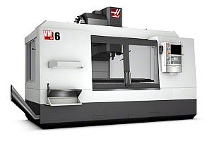 Glodalica HAAS VM 6, trunion 310